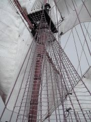 Mainmast rigging