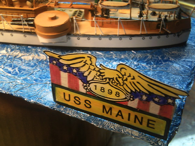 USS MAINE 1898