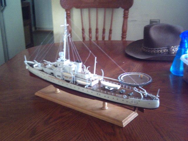USCG CAMPBELL 1/192 scale scratch built