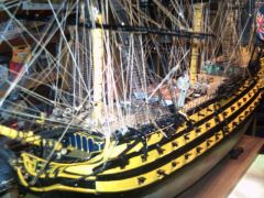 HMS VICTORY by SERGIO MANTUA 1/75 SCALE 1978