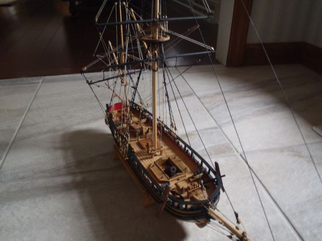 HMS Mortar Vessel Convulsion