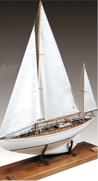 Amati Dorade Yacht - WoodenModelShipKit