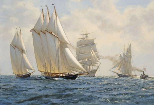 Painting-of-the-original-Schooner-Atlant