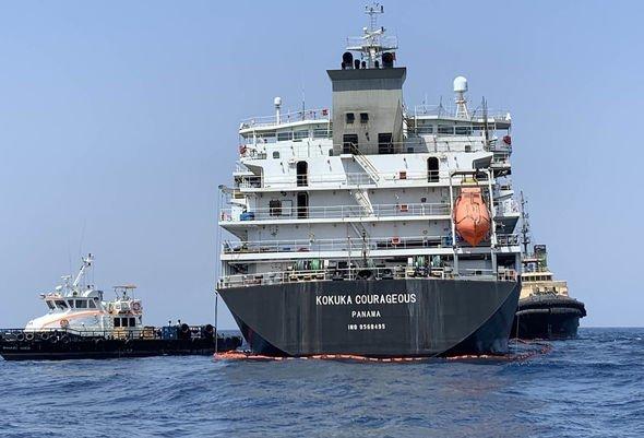 Iran war: Oil tanker