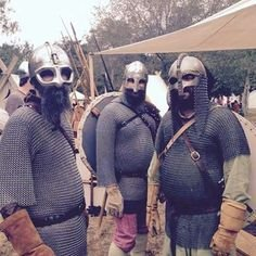 San Diego Viking reenactors!!