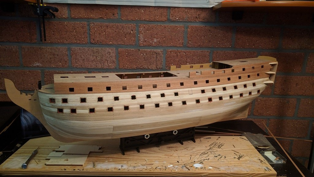 Hms Victory By Erik H Sergal Scale 1 78 Kit Build Logs For Subjects Built From 1751 1800 Model Ship World