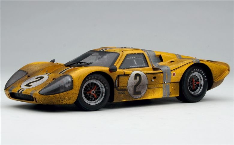 Exoto - 1967 Exoto Ford GT40 Mk IV - Fourth, 1967 Le Mans 24 Hours ...