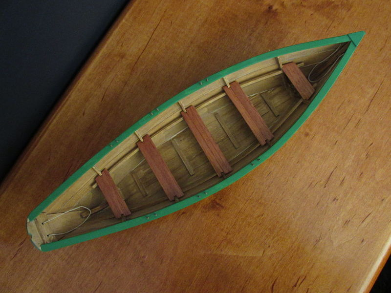 Grand Banks Dory color - Painting, finishing and weathering products and techniques - Nautical ...