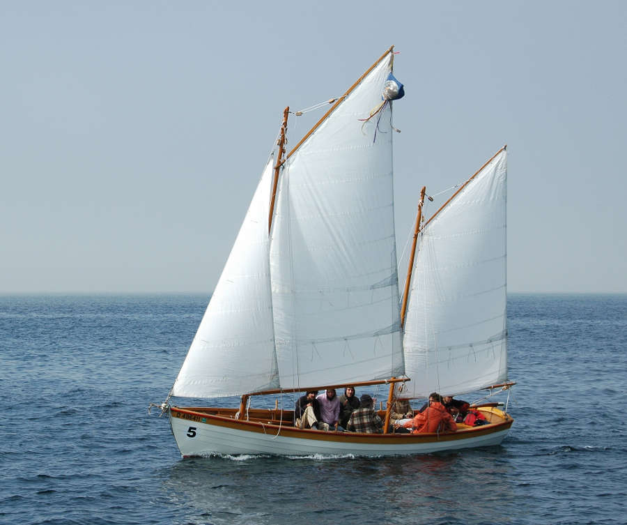 24' exploration gaff-rigged ketch by vaddoc - Scale 1:12, a