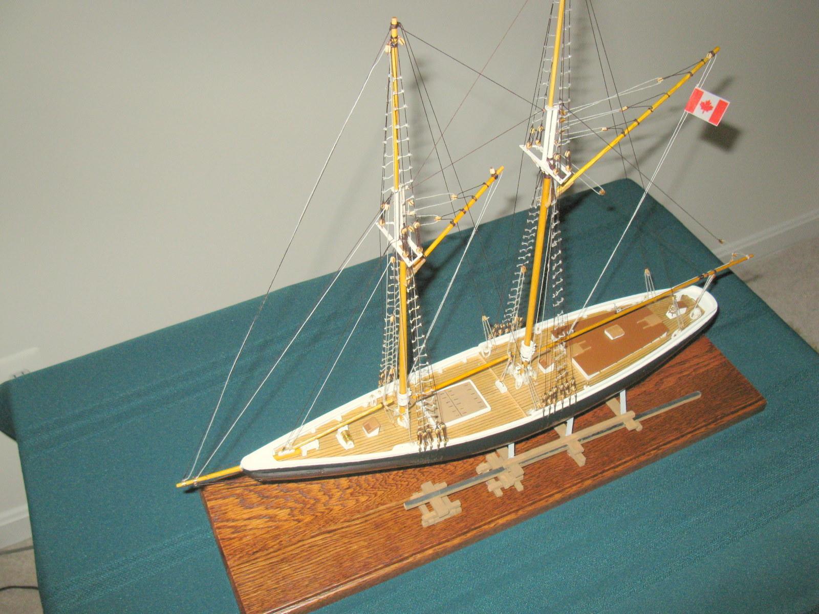 Bluenose Kits Comparison Wood Ship Model Kits