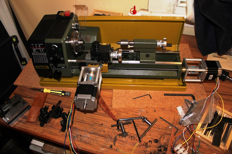 Proxxon Pd230 Metal Lathe And Cnc Kit Short Review