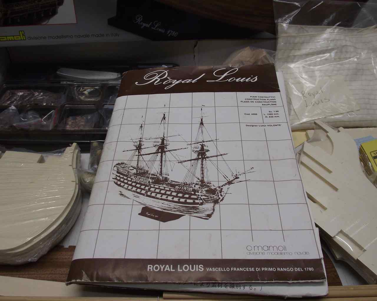 Royal Louis 1780 By Ulises Victoria Mamoli Scale 1 90