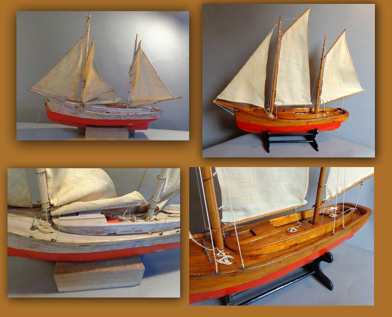 Pond Yacht rigging - Masting, rigging and sails - Model Ship World