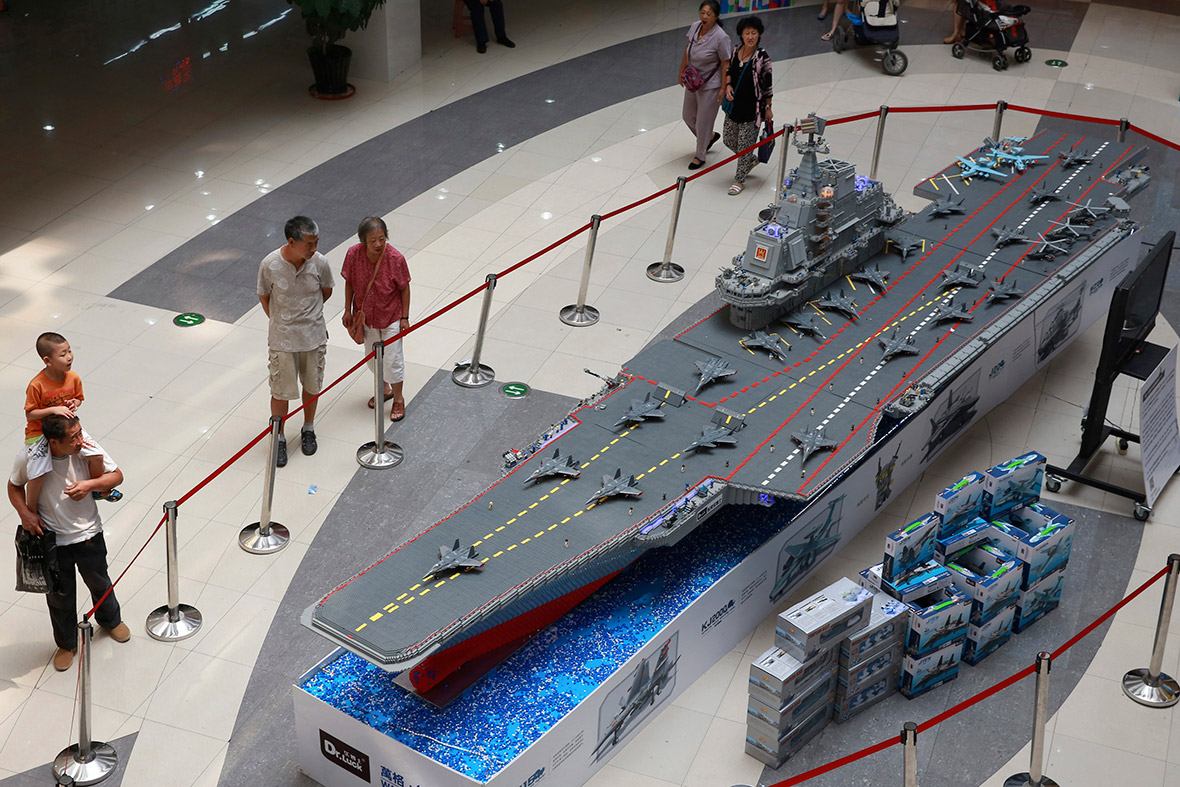 this lego aircraft carrier is so massive you will be amazed
