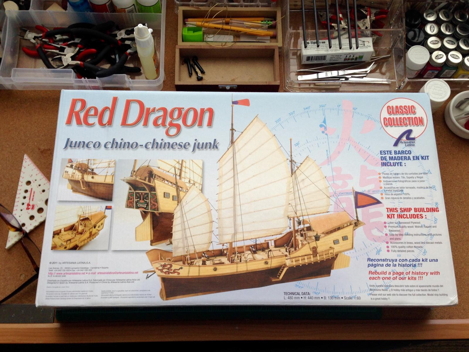 Red Dragon Chinese Junk By Carmelo5150 Artesania Latina Scale 1