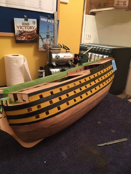 Hms Victory By Steve 12345 Finished Mantua Panart 1 78 Kit Build Logs For Subjects Built From 1751 1800 Model Ship World