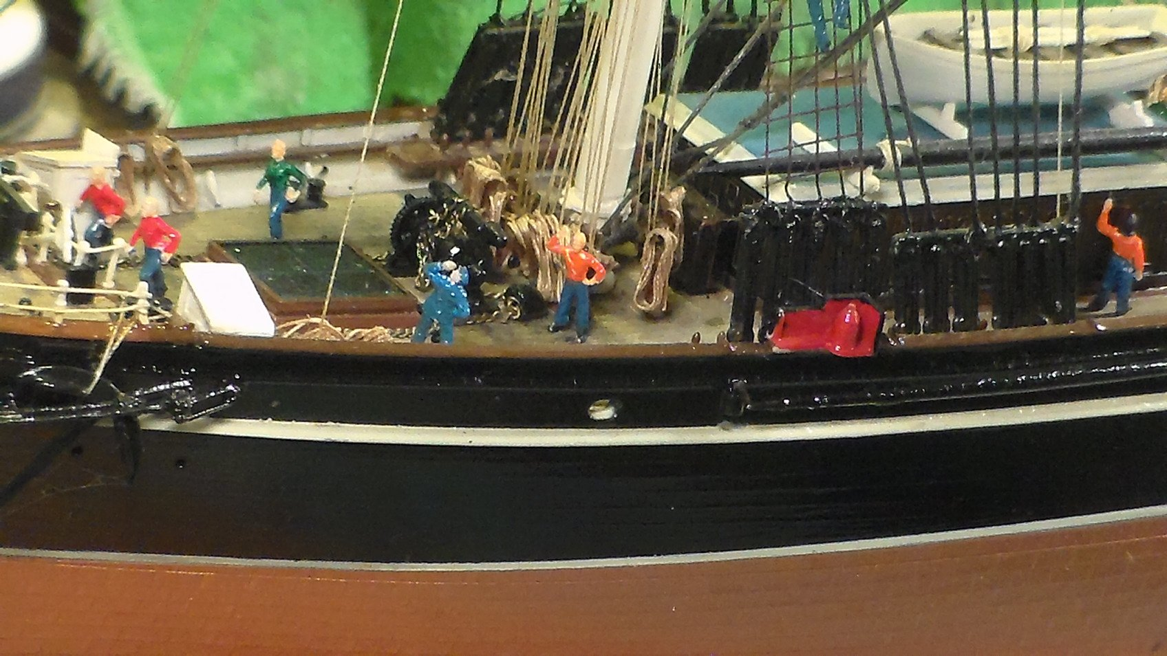 Cutty Sark by deckape - FINISHED - Revell - 1/96 - 1959 - Build Logs