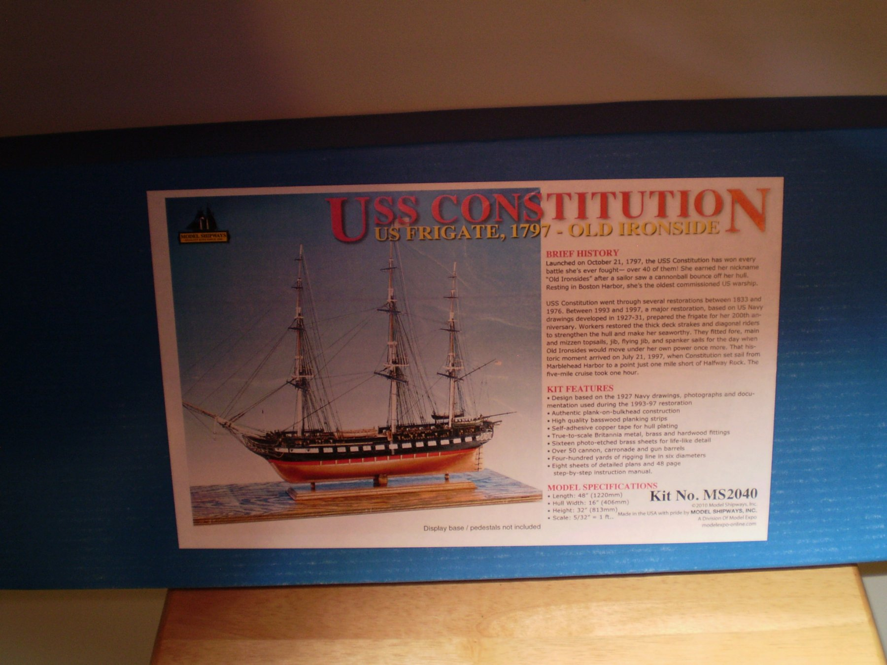 USS Constitution by maturin52 - Build Logs for SHIP MODEL KITS