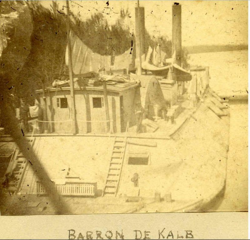 Baron DeKalb, Stern View.jpg