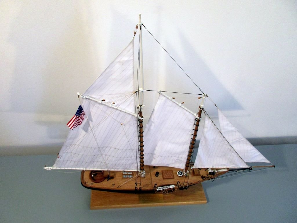Yacht America by flyer - Mamoli - scale 1:66 - with some alterations