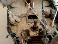 Medieval Hanseatic Cogg (Ship of the Crusaders) XII - XIV century