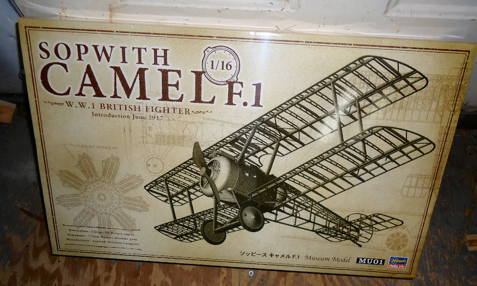 Sopwith F 1 Camel Build Log Non Ship Categorised Builds
