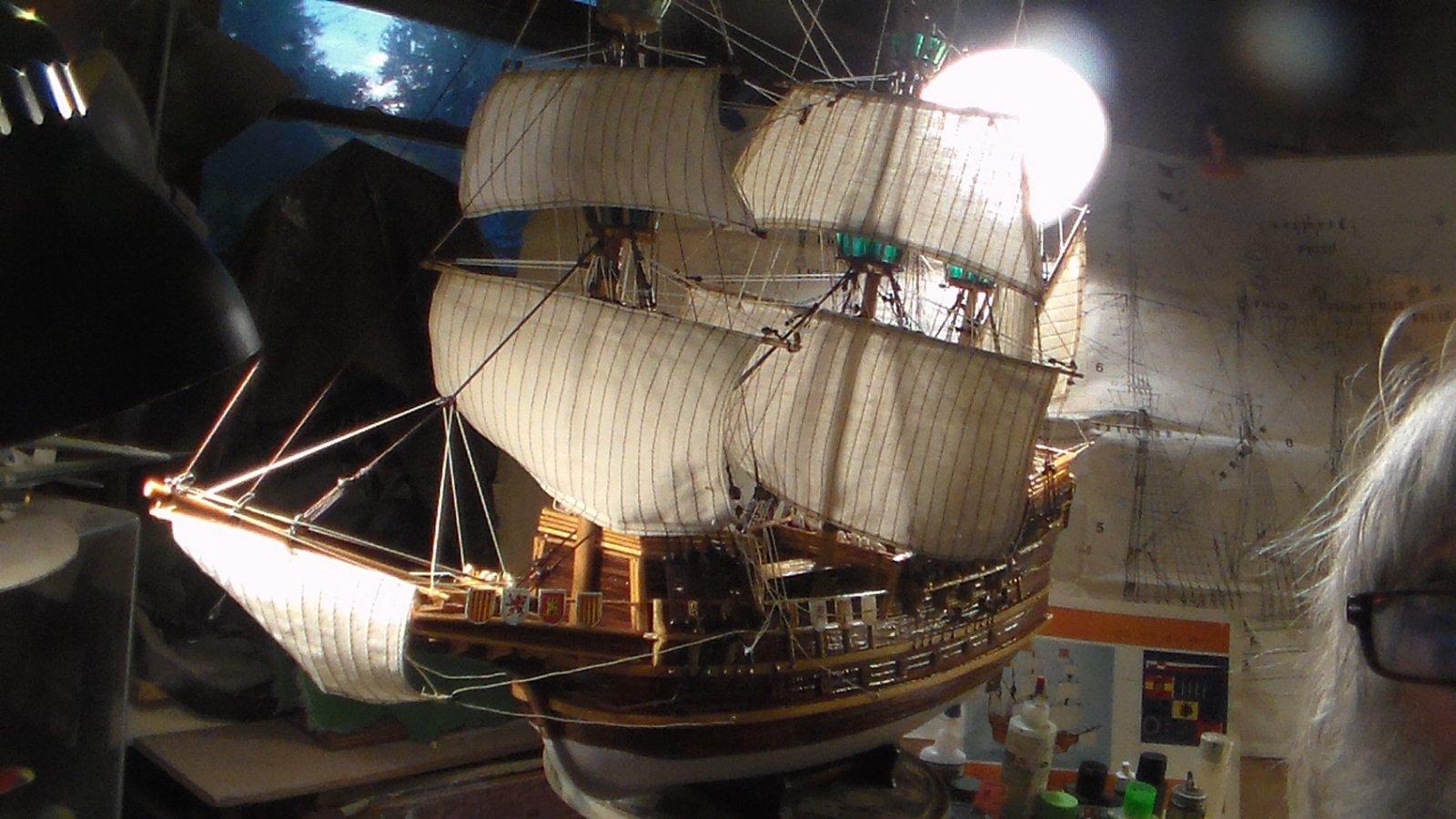 Billing Boats Spanish Galleon  ISABELLA