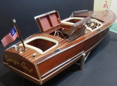 19' Chris Craft Racing Runabout (R/C) by Grant Dale