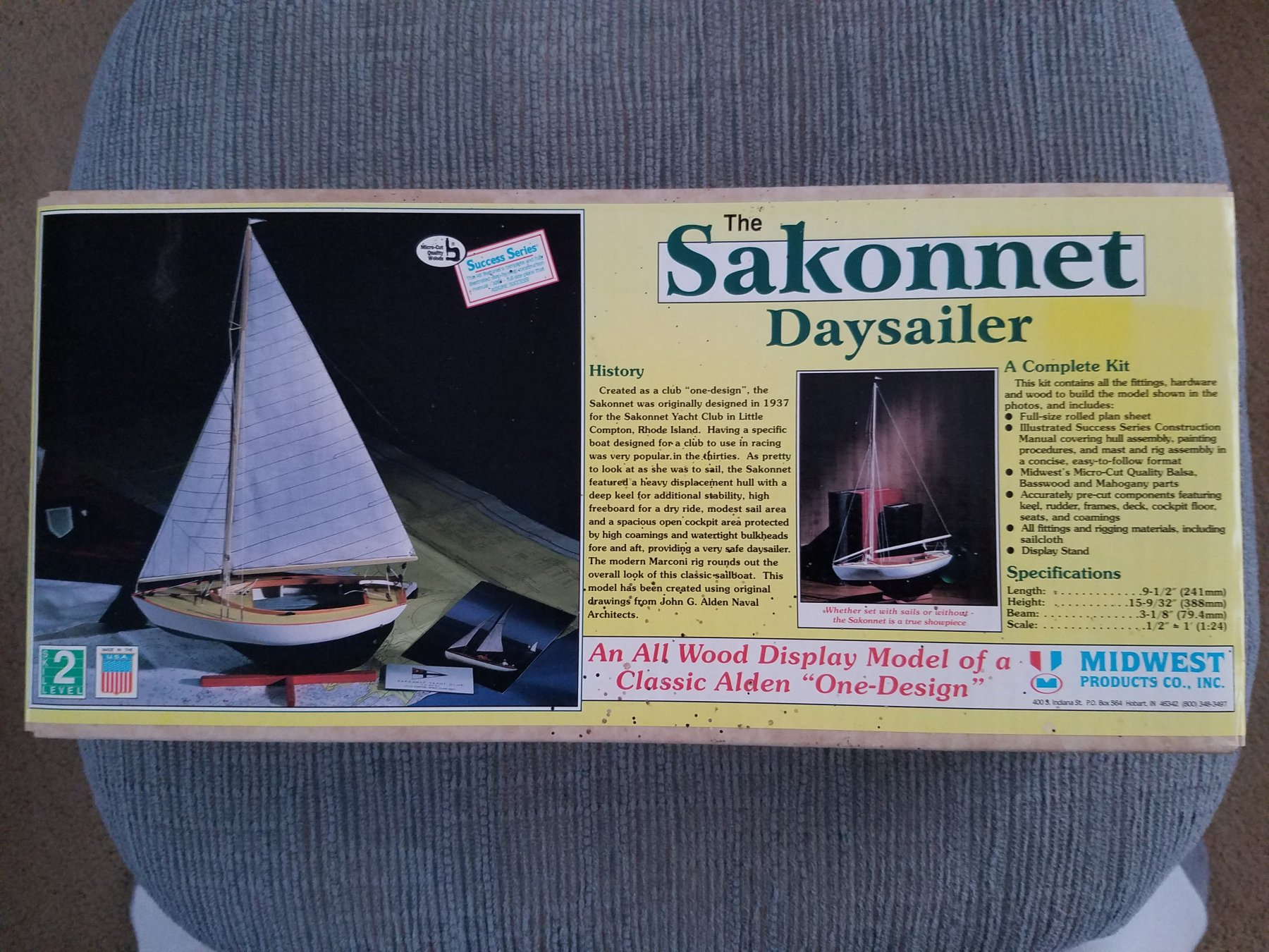 Sakonnet Daysailer by Osmosis - FINISHED - Midwest Products ... on