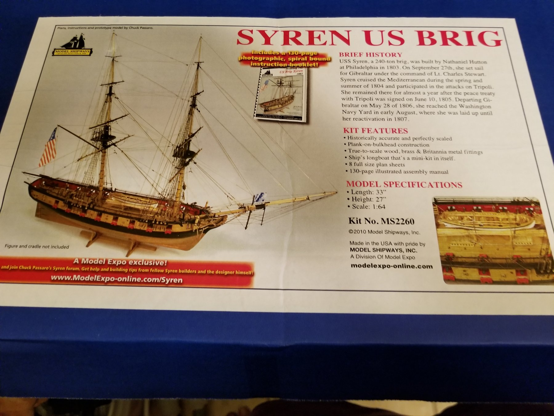 Us Brig Syren By Scasey88 Model Shipways 1 64 Scale