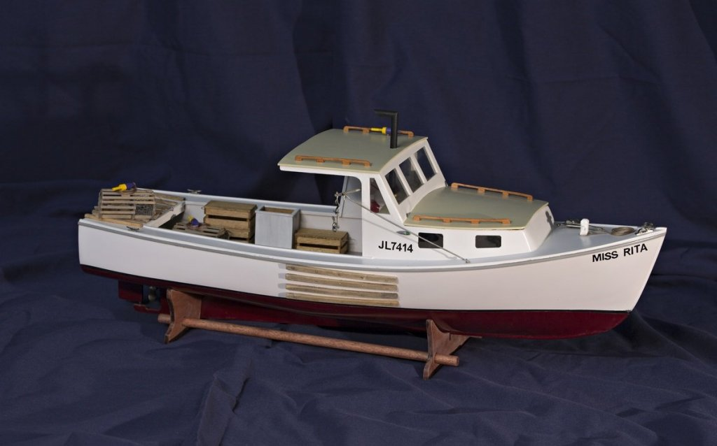 BlueJacket Lobster Boat: A Review - Wood ship model kits ...
