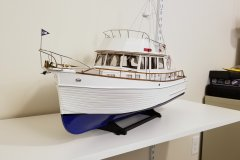 Heritage 46 Yacht by drobinson02199 - Amati - Scale 1:20 - SMALL