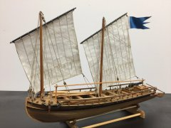 Amati Swedish Gunboat, 1777