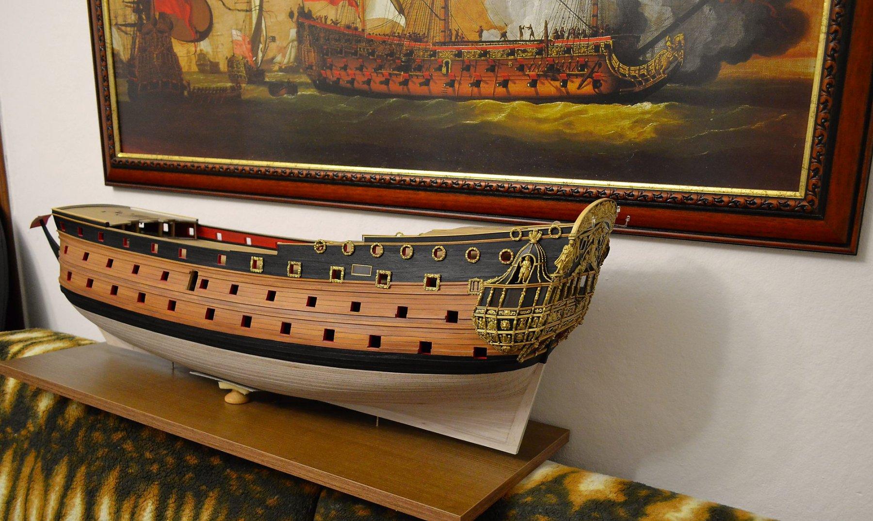 HMS ROYAL KATHERINE 1664 by Doris - 1/55 - CARD - Page 10