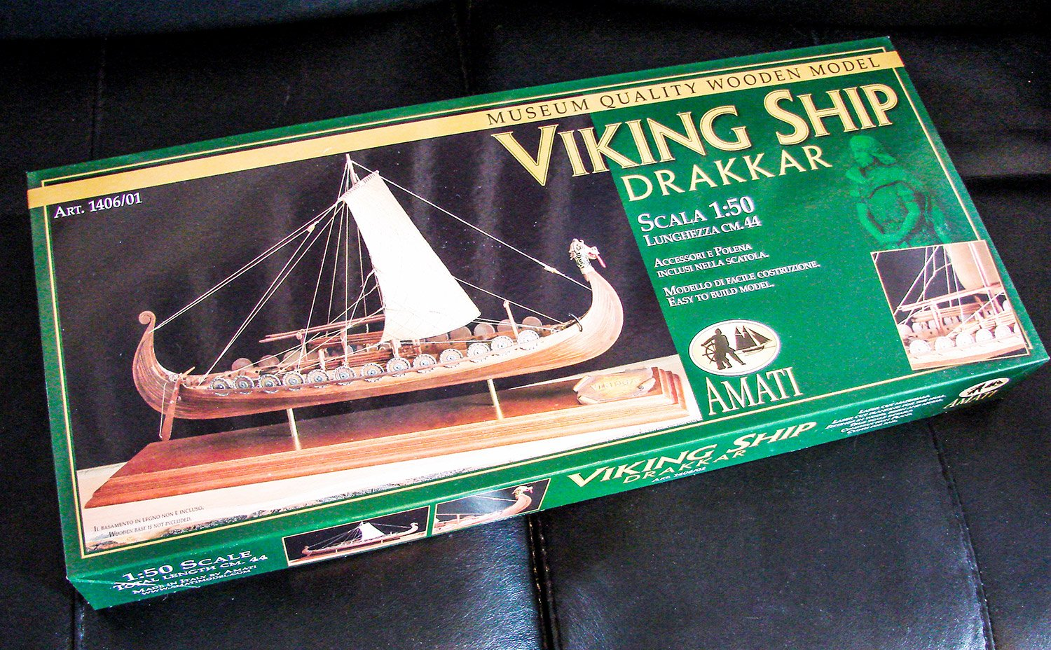 1 50 Viking Longship Drakkar By Amati Reviews Model