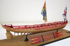 Queen Anne Style Barge - 1705