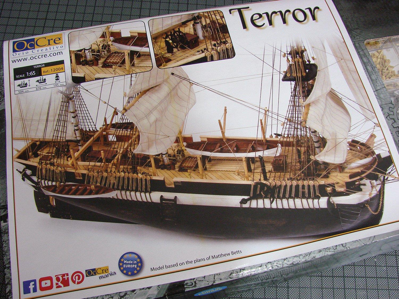 1:65 HMS Terror - OcCre - REVIEWS: Model kits - Model Ship
