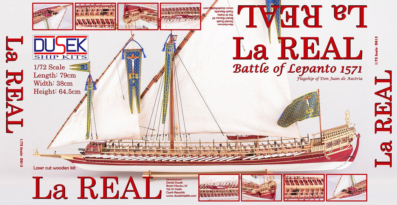 1:72 La Real - Dusek Ship Kits - REVIEWS: Model kits - Model