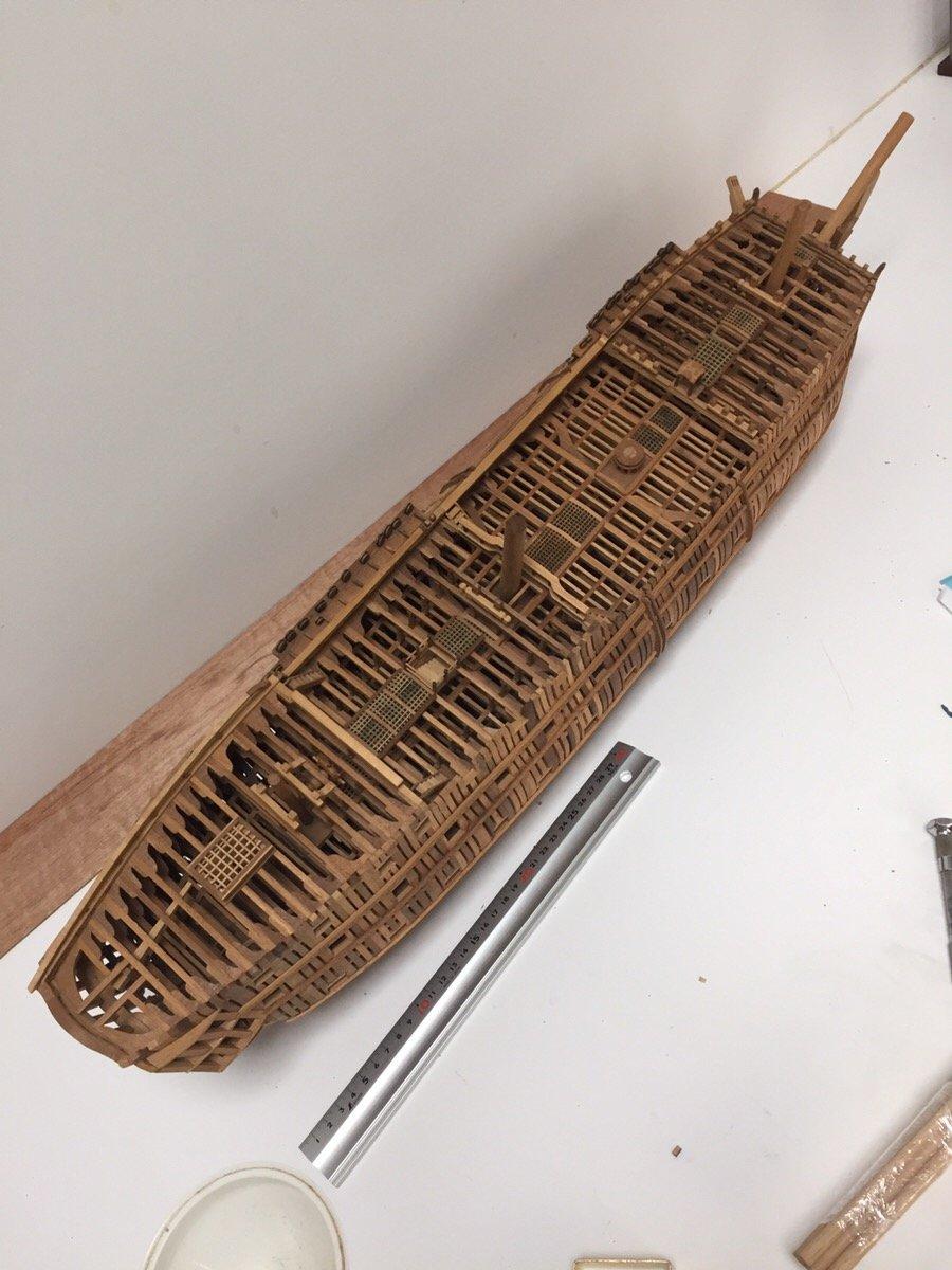 Make BELLONA structural model kit.
