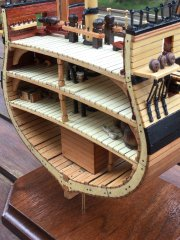 Royal Navy Ship of the Line Cross-section-1:93 by DocBlake
