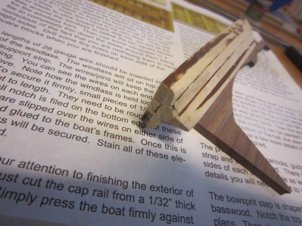 shaping exterior of long boat 004.JPG