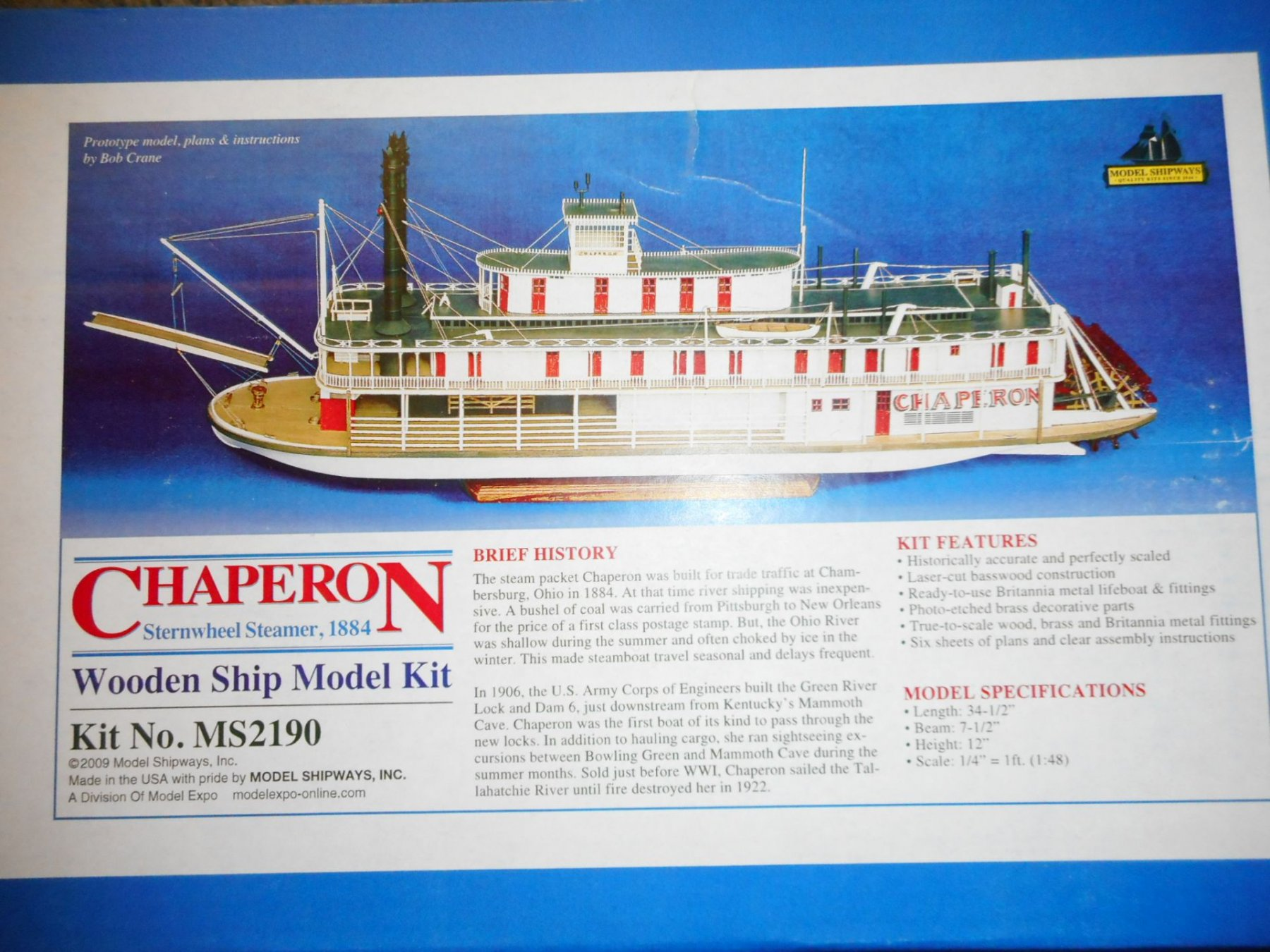 Chaperon by vossy - Model Shipways - 1:48 - Build Logs for