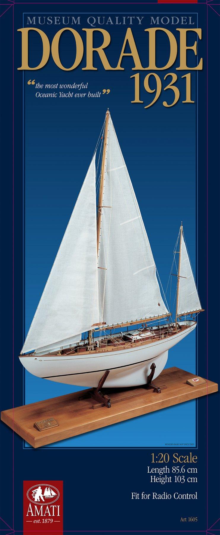 1:20 Dorade, 1931 - Amati - REVIEWS: Model kits - Nautical Research