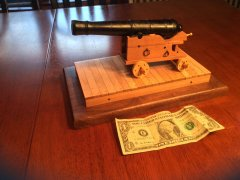 Naval Cannon - 17th Century - 1:12 scale by Doc Blake
