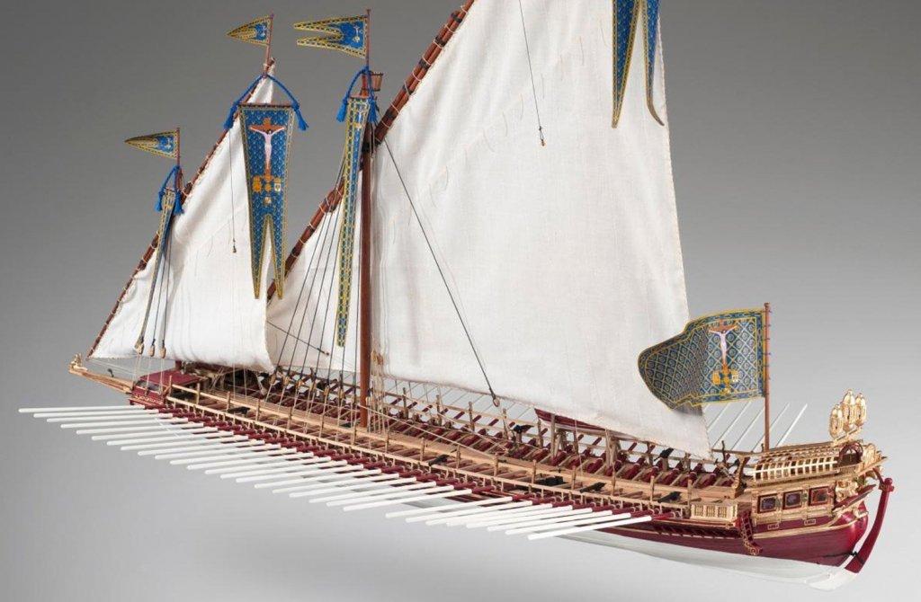 galley Spanish Battle of Lepanto in 1571 b.jpg