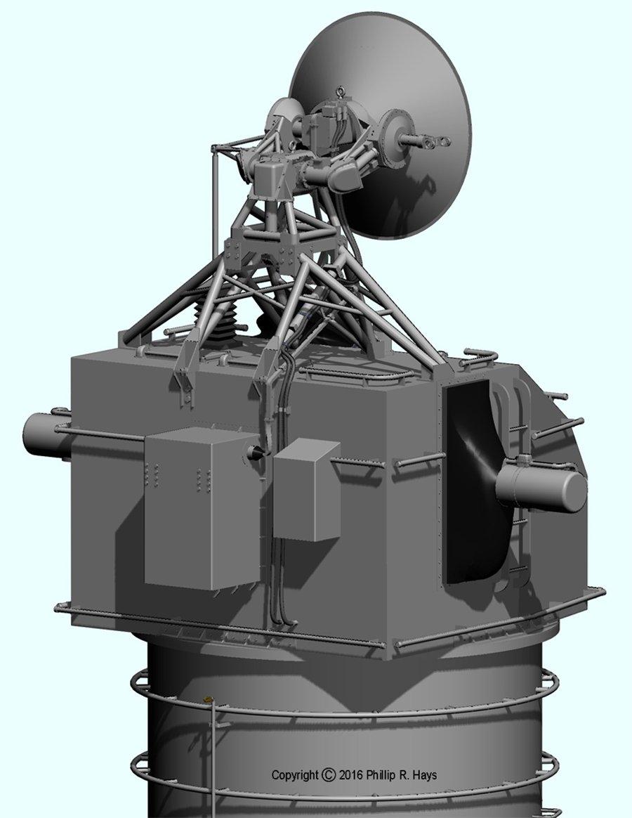 USS Oklahoma CIty CLG-5 (1971) 3D CAD model - CAD and 3D ...