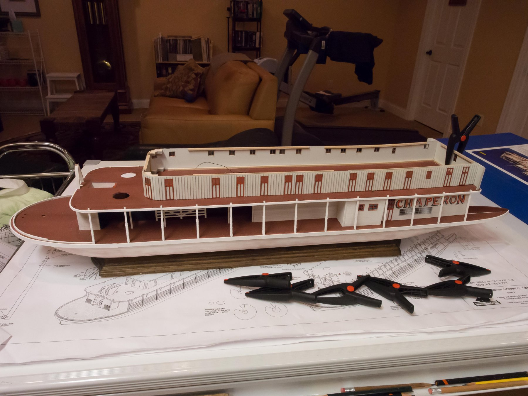Chaperon by Brucealanevans - FINISHED - Model Shipways - 1