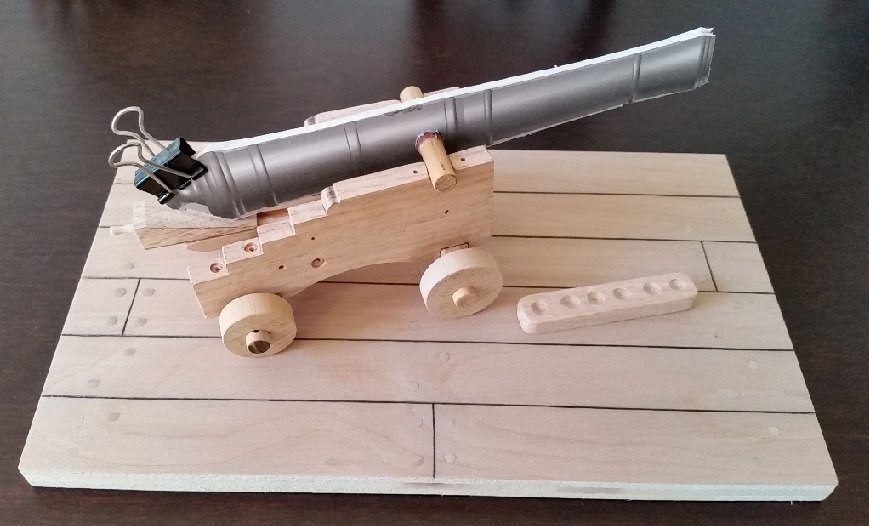26 - dry fit with mock up cannon.jpg