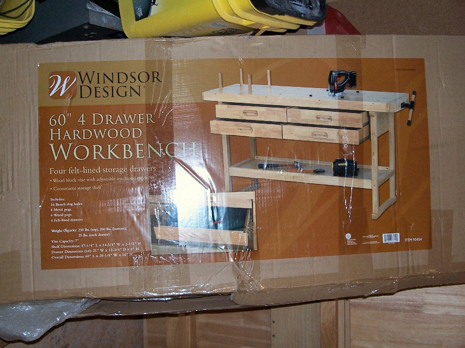 Astounding Harbor Freight Hardwood Workbench Kit Bash Modeling Tools Short Links Chair Design For Home Short Linksinfo