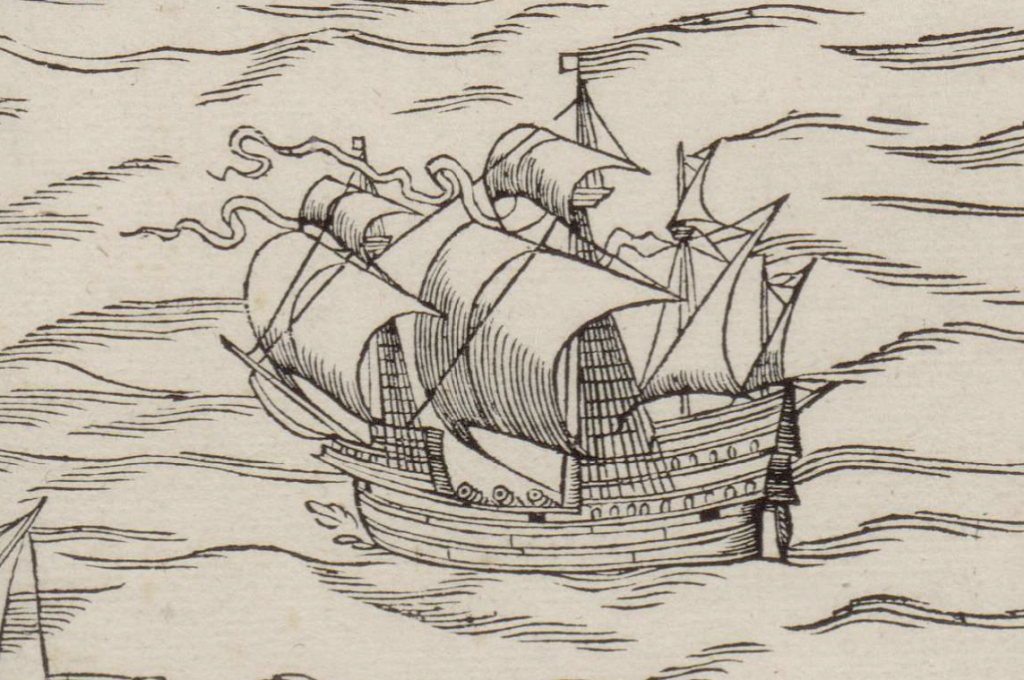 1544 map of amsterdam ship detail 4 ship under sail .png